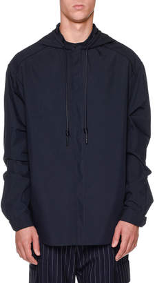 Juun.J Juun J Hooded Long-Sleeve Shirt