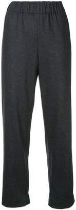 Tibi elasticated waist trousers