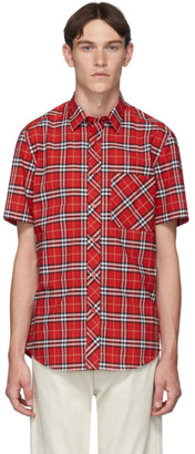 Burberry Red Check Classic Shirt