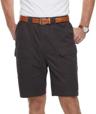 Croft & Barrow Men's Classic-Fit Side-Elastic 9.5-inch Cargo Shorts