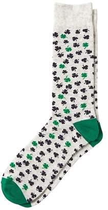 Banana Republic Lucky Clover Sock