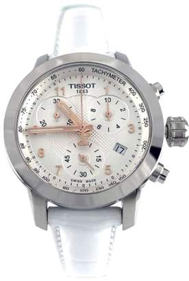 Tissot PRC 200 Quartz Lady Stainless Steel & Leather 35mm Watch