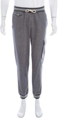 Band Of Outsiders Virgin Wool & Mohair-Blend Joggers