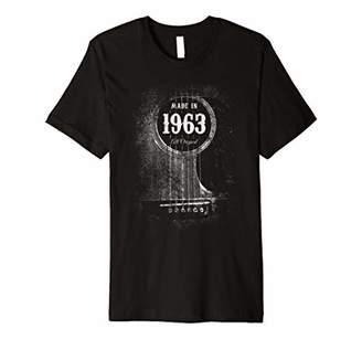 Vintage Guitar 1963 Acoustic Six String Player 56th Birthday Premium T-Shirt