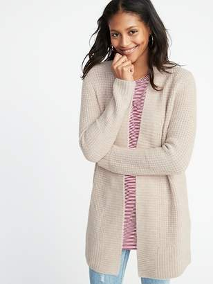 Old Navy Open-Front Thermal Sweater for Women