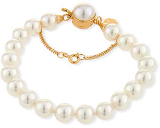 Majorica 8mm Simulated Pearl Clasp Bracelet