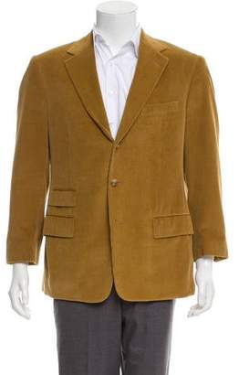 Ralph Lauren Purple Label Structured Corduroy Blazer