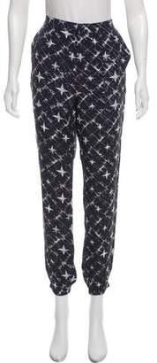 Maison Scotch Star Patterned High-Rise Pants w/ Tags