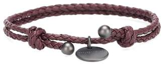 Bottega Veneta Intrecciato leather bracelet