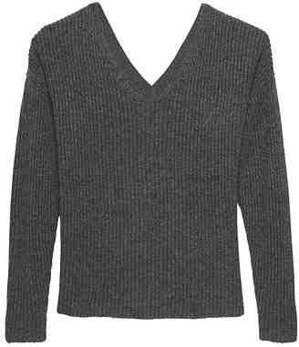 Banana Republic JAPAN ONLINE EXCLUSIVE Reversible V-Neck Sweater
