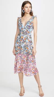 Saloni Holly Midi Dress