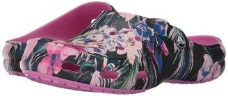 Crocs - Freesail Graphic Clog Women's Clog/Mule Shoes $29.99 thestylecure.com