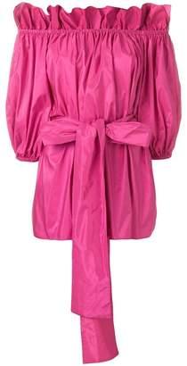 Stella McCartney off-the-shoulder belted blouse