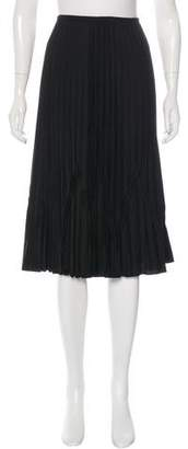 Magaschoni Wool Midi Skirt