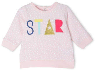 Sprout NEW Mix and Match Sweat Top Lt Pink