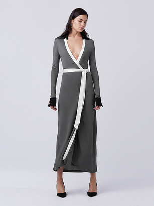 Cybil Two Wrap Dress $468 thestylecure.com