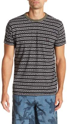 Billabong Resin Short Sleeve Print Tailored Fit Tee