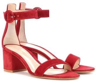 Gianvito Rossi Versilia 60 suede sandals