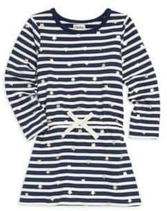 Hatley Little Girl's& Girl's Starry Stripe A-Line Dress
