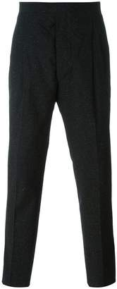 Études front pleat trousers