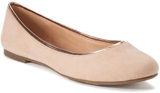 Lauren Conrad Sheen Women's Ballet Flats