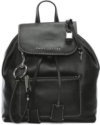 Marc Jacobs The Bold Grind Black Leather Backpack