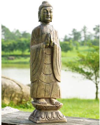SPI Home Meditating Buddha Garden Statue