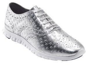 Women's Cole Haan 'Zerogrand' Perforated Wingtip $230 thestylecure.com