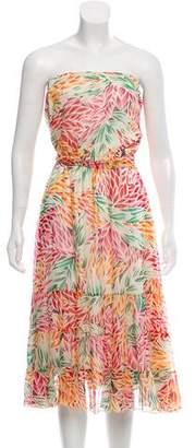Diane von Furstenberg Jamaica Silk Strapless Dress