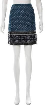 Donna Karan Embellished Mini Skirt