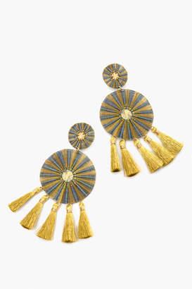 Mercedes Salazar Yui Azul Earrings