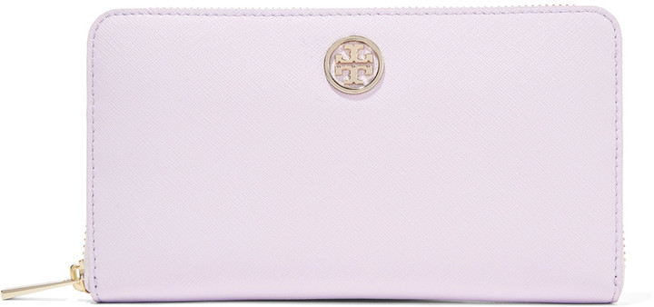 Tory Burch Tory Burch Robinson textured-leather wallet