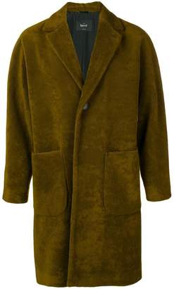 Hevo Conversano single-breasted coat