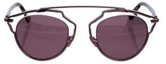 Christian Dior So Real Tinted Sunglasses