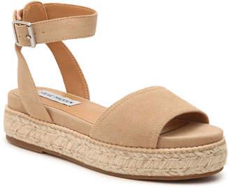 cb050961420 Steve Madden Beige Platform Women s Sandals - ShopStyle