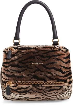 Givenchy Small Pandora Faux Fur Satchel