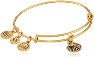 Alex and Ani Sea Shell Expandable Charm Bracelet, Rafaelian Gold-Tone