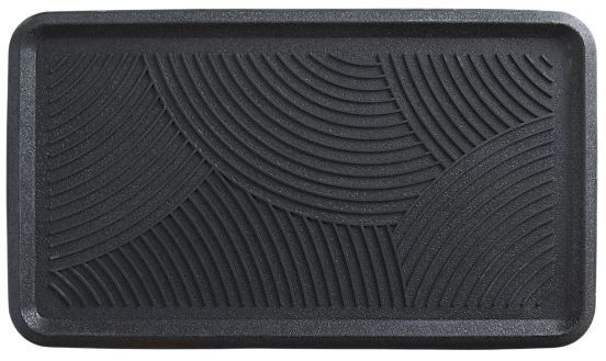 Swirl Rubber Boot Tray