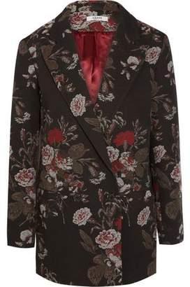 Ganni Cotton-Blend Brocade Jacket