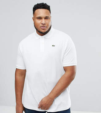 Lacoste Big Fit Logo Polo Shirt in White