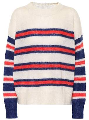 Etoile Isabel Marant Isabel Marant, Étoile Russell striped mohair-blend sweater