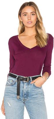 Bobi (ボビ) - Light Weight Jersey Front Pocket Long Sleeve Top