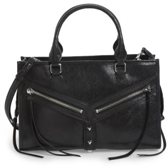 Botkier Leather Top Handle Satchel - Black