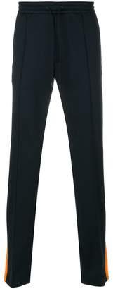 Valentino branded side stripe track pants