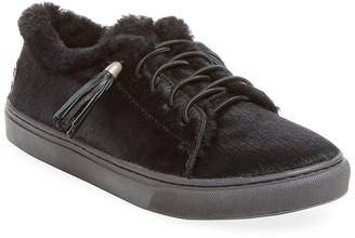 Mou Calf Hair Slip-On Sneaker