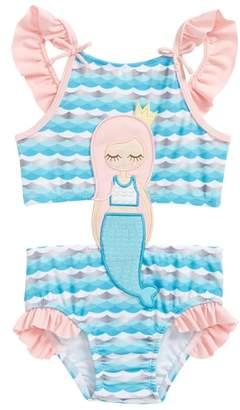 Sol Swim Mermaid One-Piece Swimsuit