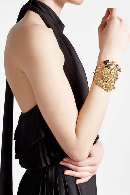 Aurelie BidermannAurélie Bidermann 18K Yellow Gold Plated Bracelet