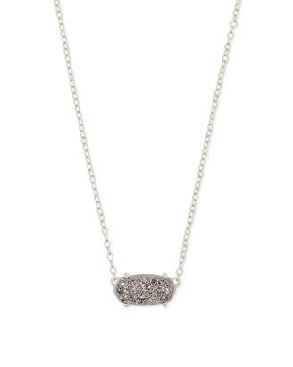 Kendra Scott Ever Pendant Necklace in Silver