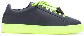 Philipp Plein contrast low-top sneakers