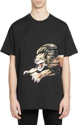 Givenchy Lion Logo Tee